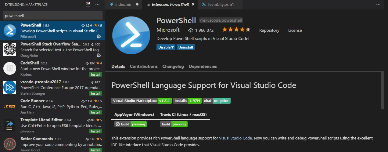 Exploring PowerShell with graphical user interface  · Cezary