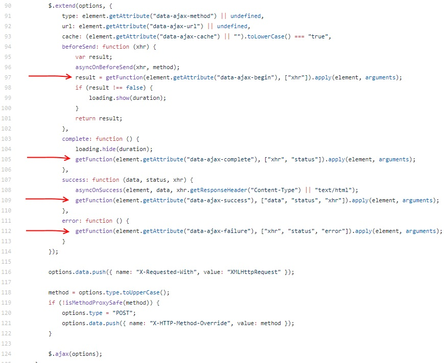 What's wrong with default ajax support in ASP NET MVC and